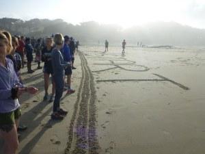 Beach Running Clatsop County race