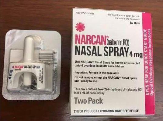 naloxone overdose kits
