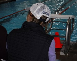 Gretchen Corbin Times For HS Swim Meet