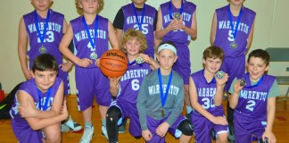 Pacific Basketball League Championship Tournament Warrenton 5th grade tournament team