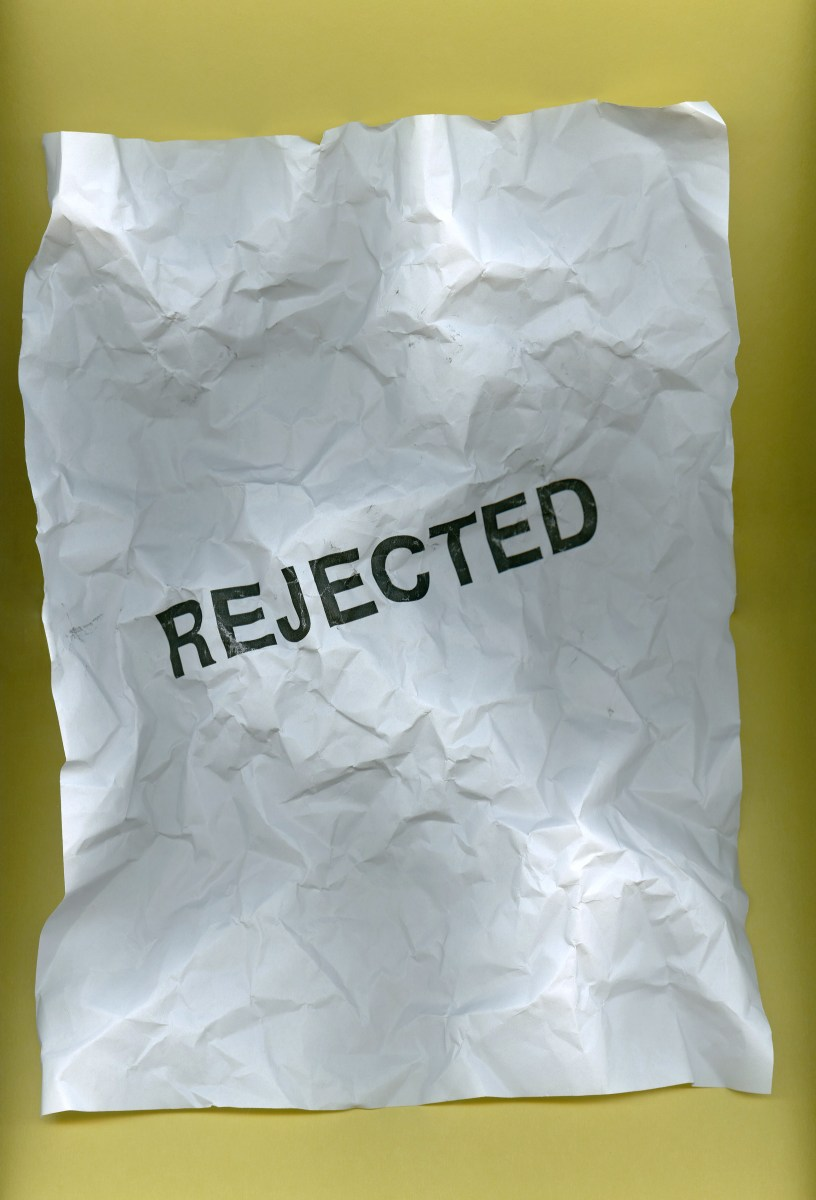 Pushing Past Rejection