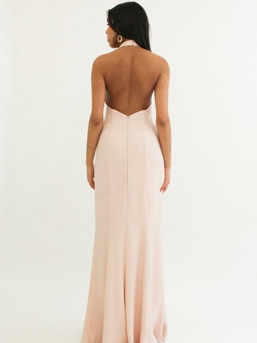 Luxury Designer Gown Pink
