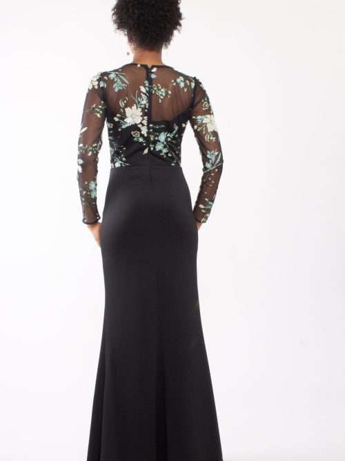 Embellished mermaid gown