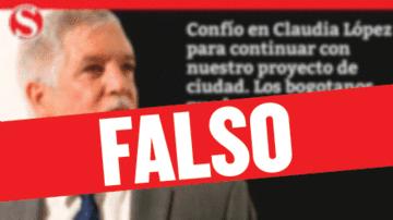 Claudia López NO continuará todos los proyectos de Peñalosa