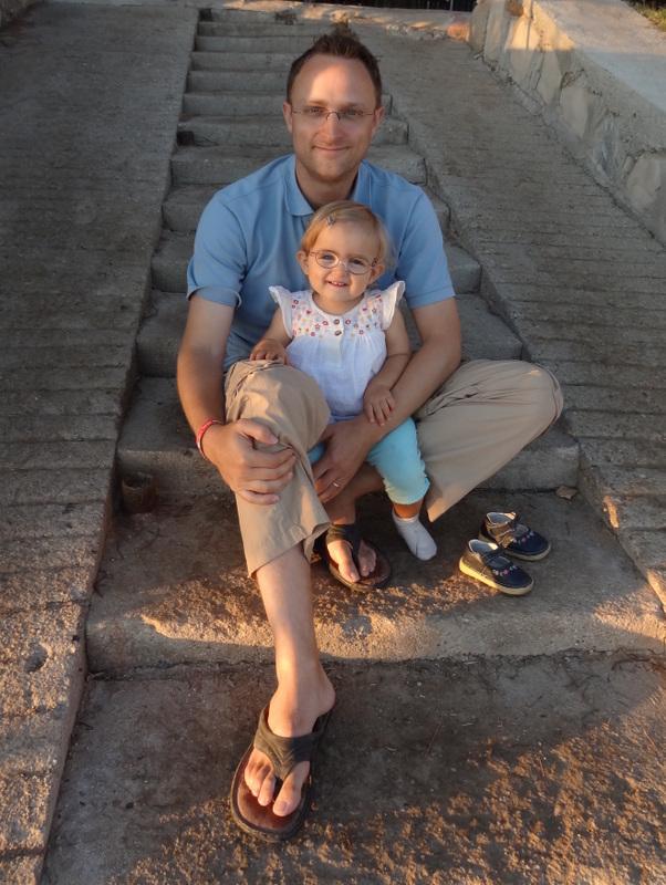Mathias mit Laura Maria
