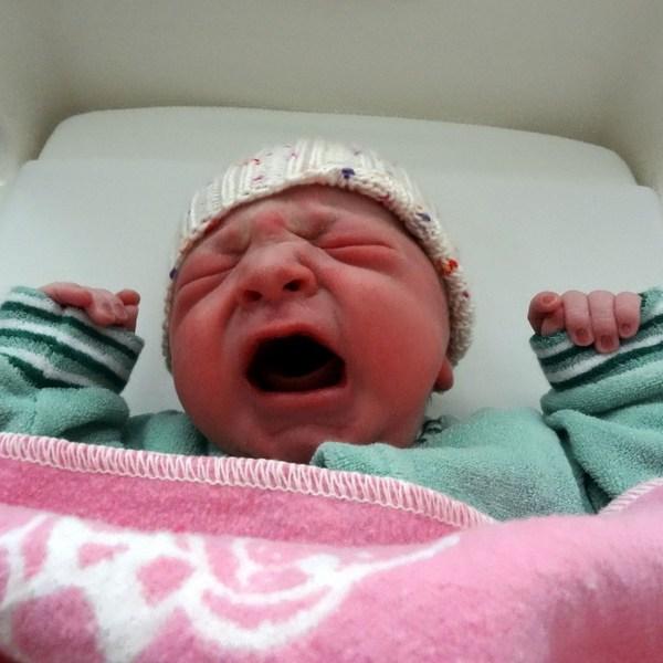 Lucas David kurz nach Geburt