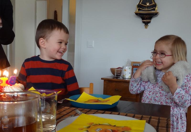 dritter Geburtstag mit Cousin Tim