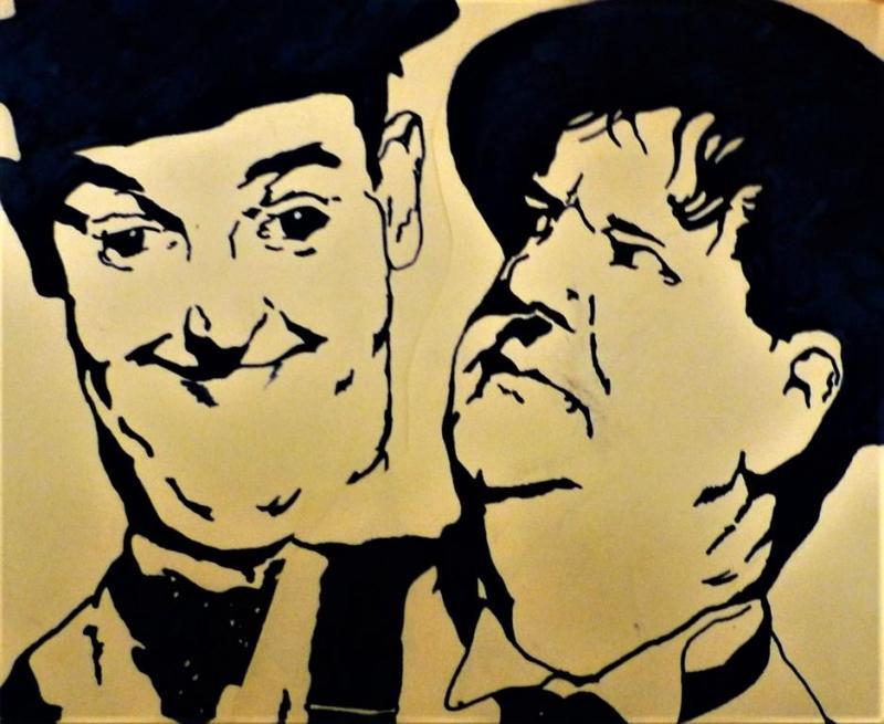 Dick & Doof: das Komiker-Duo