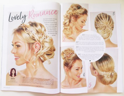 Brautfrisuren Magazin