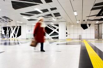 Untergrundbahn, U-Bahn, Haltestelle, Subway, Metro, Düsseldorf, Claudia Zurlo Photography