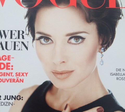 Vogue Cover - Isabella Rossellini
