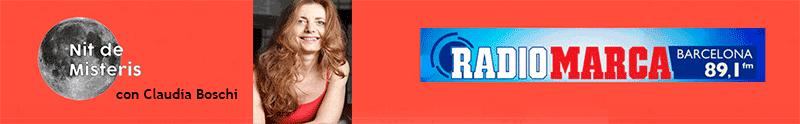 Claudia Boschi en Nit de Misteris de Radio Marca