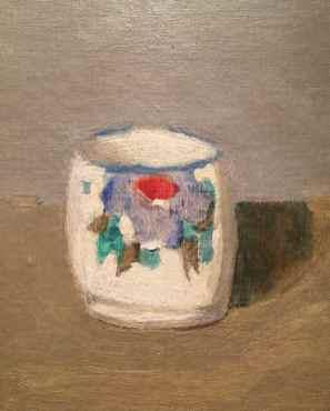 Claudia Campaña. Adolfo Couve- imágenes inéditas Detalle óleo, Taza, c. 1966