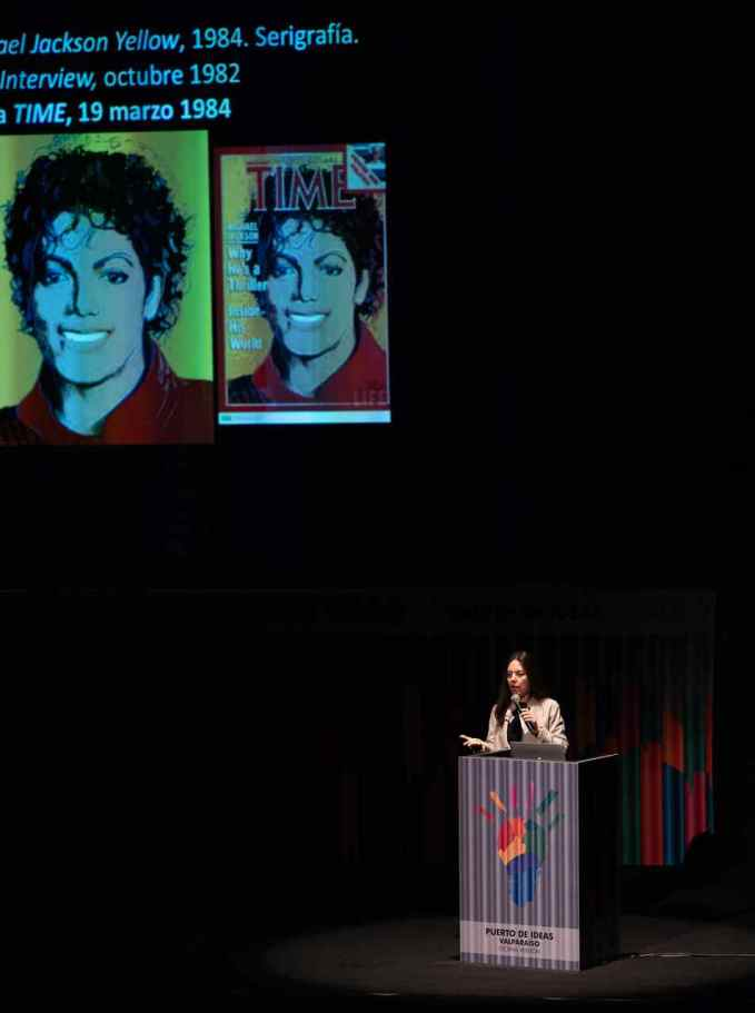 Claudia Campaña Puerto de Ideas Valparaíso 2018