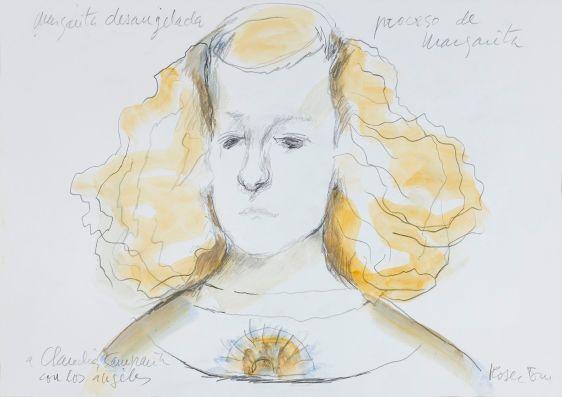 Roser Bru_Margarita desangelada, c.2008. Dibujo acuarelado, 29,8x41,9 cm_Colección privada_PNC_1551 copia