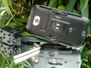 Rückansicht mit Aussparung für die Kameralinse (Foliert)