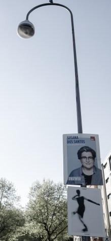 Kunst und Politik. Gesehen in Köln © CF