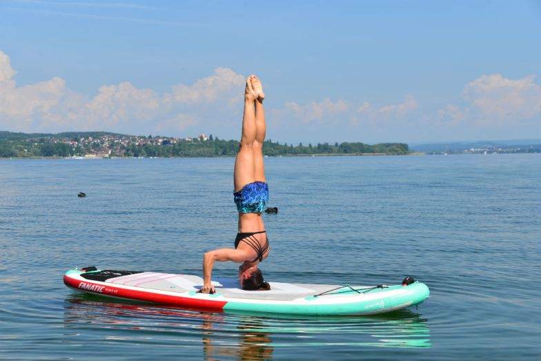 SUP Yoga Berlingen Martina Singer
