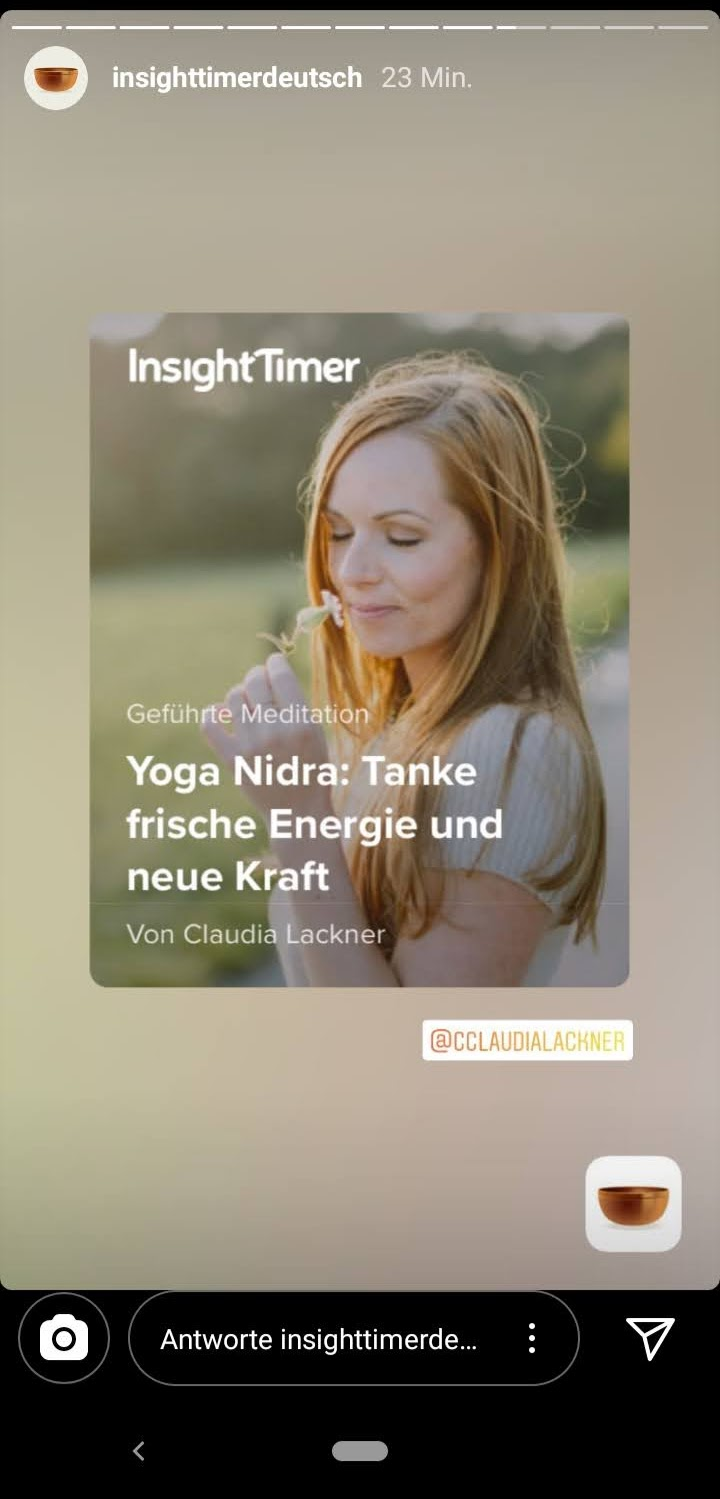 Claudia Lackner in Insight Timer