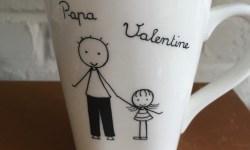 tasse personnalisée pour papa