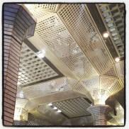 Plafond à miroirs