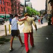 Amitié communicative à Greenwich Village