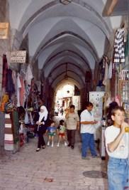 Passages du quartier arabe dans la vieille ville