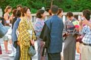 Activité dominicale au parc Yoyogi (Harajuku, Tokyo)