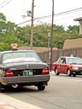Insignes de taxi en forme de coeur et de trèfle