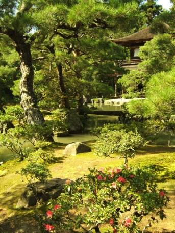 Jardin zen d'un temple bouddhiste (Kyoto)