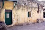 Partie éthiopienne sur le toît de l'Église du Saint-Sépulcre