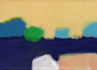 """Small landscape - Day 4. 5"""" x 7"""" on canvas board."""