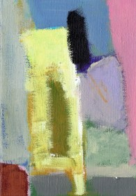 """Small landscape, Day 31 - 7"""" x 5"""" on canvas board."""