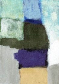 """Small landscape, Day 24 - 7"""" x 5"""" on canvas board."""