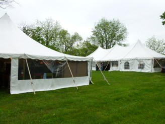 The show is held in two large tents.