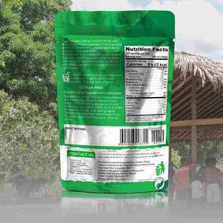 The Amazon Secret Cupuaçu & Lime