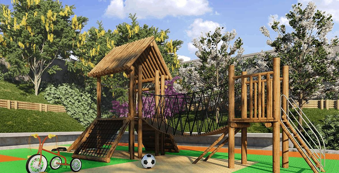Playground do Condomínio Natureza Clube Morumbi