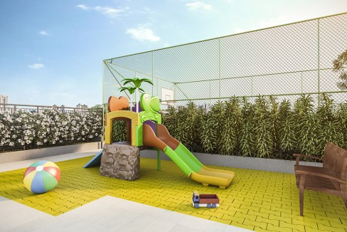 Playground do Next Astorga Condomínio Clube