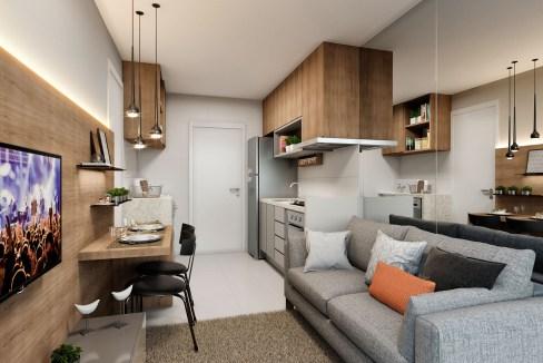Apartamento de 1 Dormitório do Plano Reserva Vila Andrade
