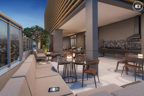 Perspectiva Ilustrada do Exclusive Sky - Signature by Ott