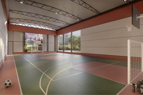 Quadra recreativa - Reserva Caminhos da Lapa