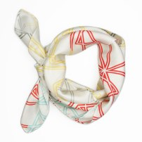Symmetry Silk Scarf By Claudia Owen 2