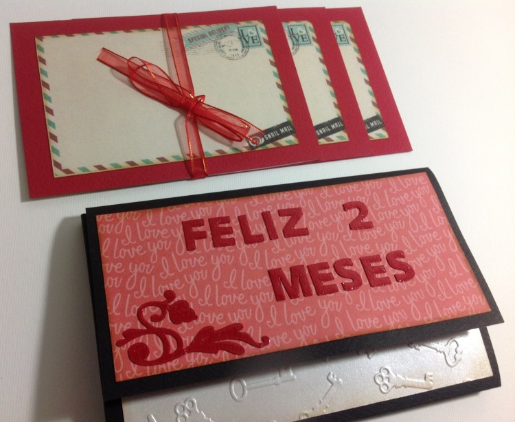 Mini album feliz cumple mes