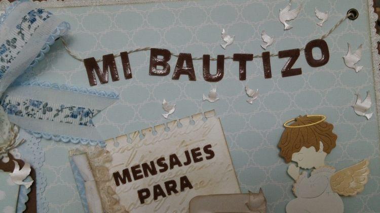 Album libro de firmas bautizo primera comunion 6