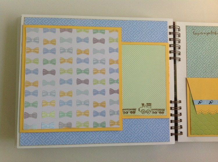 Album scrapbook para baby shower o bebe (18)
