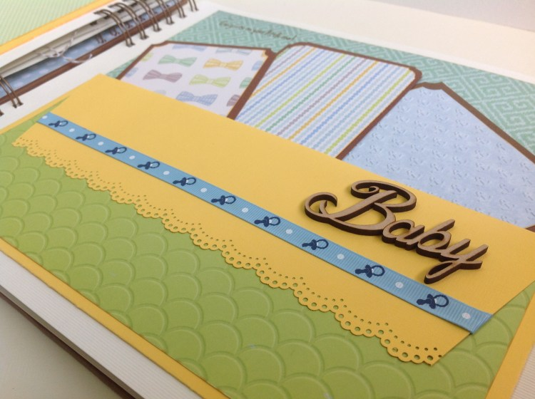 Album scrapbook para baby shower o bebe (22)