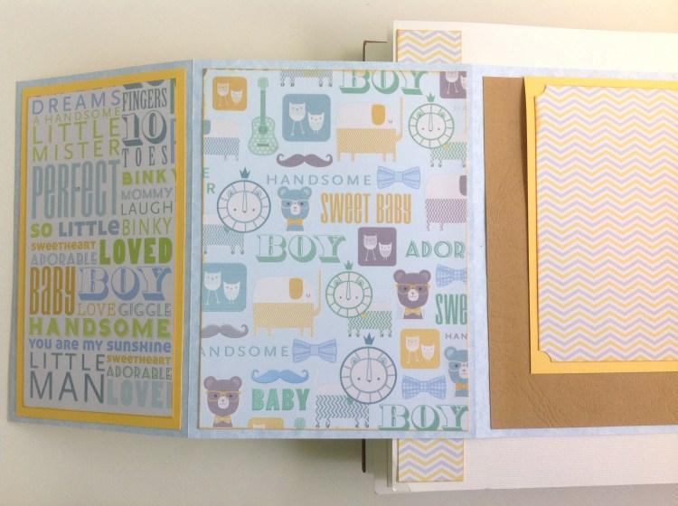 Album scrapbook para baby shower o bebe (25)