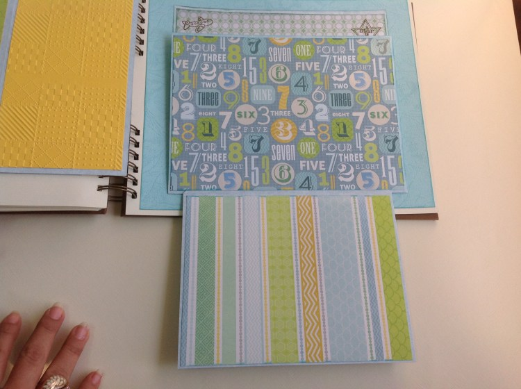 Album scrapbook para baby shower o bebe (29)