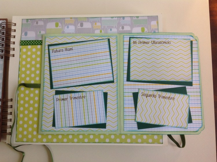 Album scrapbook para baby shower o bebe (4)