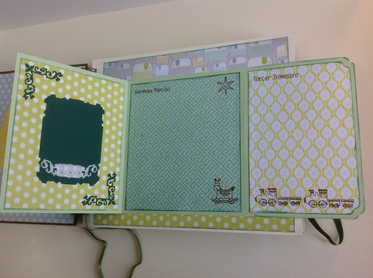 Album scrapbook para baby shower o bebe (6)